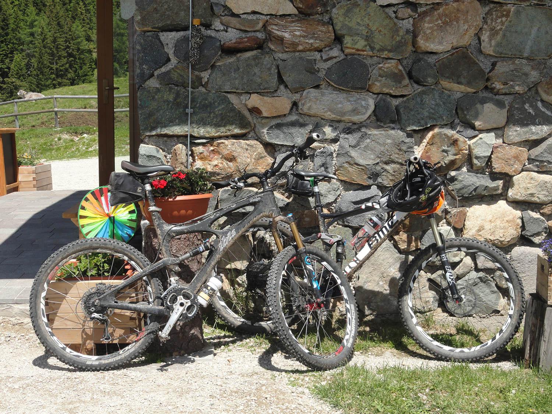 Bikes al Rifugio Consèria