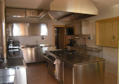 Casa-Vacanze-Gruppi- Primalunetta-cucina
